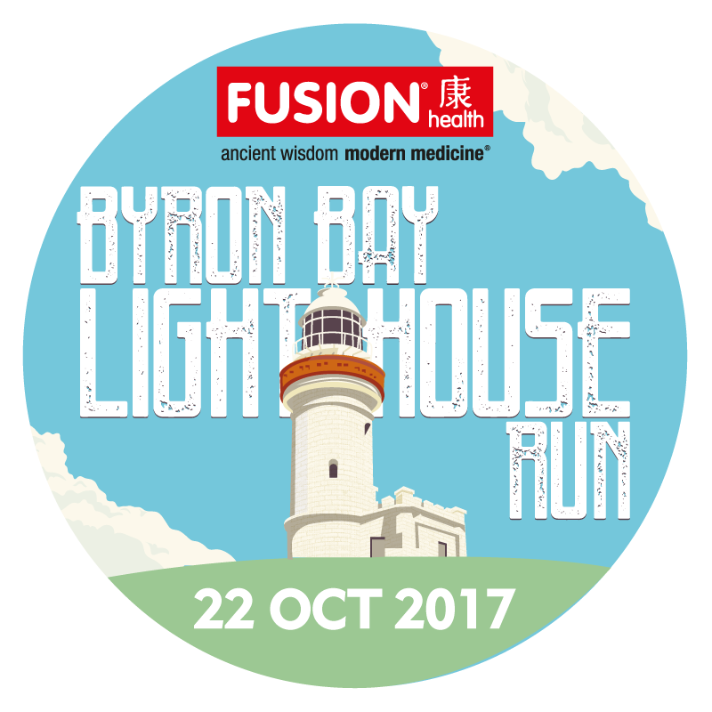 Byron Bay Lighthouse Run Retina Logo