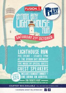 Pre-event Dinner Byron Bay Brewery Byron Bay Lighthouse Run 2017